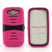 12 Units of Samsung Galaxy S3 Hybrid Case with/ Kick Stand Pink - Cell Phone Accessories
