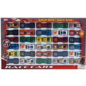 24 Units of ASSORTED DIE CAST CAR SET IN WINDOW BOX - Cars, Planes, Trains & Bikes