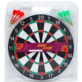30 Units of DART BOARD WITHARTS IN PEGABLE BLISTER PACK - Darts & Archery Sets