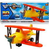 """24 Units of 10"""" B/O BUMP N' GO AIRPLANE W/ LIGHT&SOUND IN COLOR BX - Cars, Planes, Trains & Bikes"""