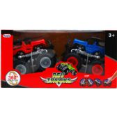 18 Units of 2PC F/F REV TRUCKS W/360 SPIN ACTION IN WINDOW BOX, 2 ASST - Cars, Planes, Trains & Bikes