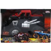 """12 Units of 9"""" F/F MONSTER TRUCK IN WINDOW BOX, 3 ASSRT CLRS - Cars, Planes, Trains & Bikes"""