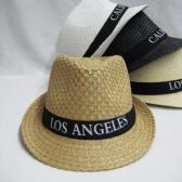 "36 Units of ""Los Angeles""Fedora Hat - Fedoras, Driver Caps & Visor"