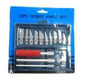 96 Units of 13 Piece Hobby Knife Set - Knives/Cutters/Blades