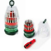 48 Units of 31 Piece in One Screwdriver Set - SCREWDRIVERS & SETS
