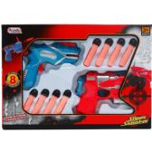 24 Units of AIR GUNS PLAY SET IN WINDOW BOX - Toy Weapons