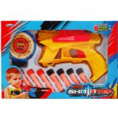 """24 Units of 10PC 7.5"""" AIR GUNS PLAY SET IN WINDOW BOX - Toy Weapons"""