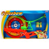 "12 Units of 15"" TOY CROSSBOW PLAY SET W/ 9"" BULLSEYE IN OPEN BOX - TOY SETS"