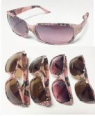 36 Units of Ladies' Diamond Camo Sunglass - Sunglasses