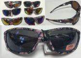 36 Units of Camo Print Sunglasses/Assorted Color - Sunglasses