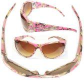 36 Units of WOMAN CAMO DIAMOND COLOR MIXED - Sunglasses