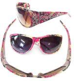 36 Units of WOMAN CAMO DIAMOND SUNGLASSES COLOR ASSORTED - Sunglasses