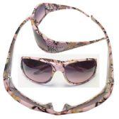 36 Units of WOMAN CAMO DIAMOND SUNGLASSES COLOR MIXED - Sunglasses