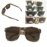 36 Units of MAN'S CAMO SUNGLASS - Sunglasses