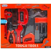12 Units of 14PC TOUGH TOOLS PLAY SET IN WINDOW BOX - TOY SETS