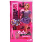 "24 Units of 12"" BENDABLE SOFIA DOLL W/ ACCSS IN WINDOW BOX, 2 ASSRT - Dolls"