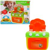 "12 Units of 10.5"" B/O KITCHEN PLAY SET W/LIGHT&SOUND IN COLOR BOX - TOY SETS"