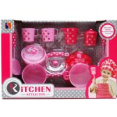12 Units of 14PC FASHION TEA PLAY SET IN OPEN BOX W/ COVER - TOY SETS