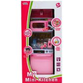 "12 Units of 13"" B/O MINI KITCHEN MICRO W/ LIGHT&SOUND IN WINDOW BOX - TOY SETS"