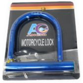 24 Units of Heavy Duty Motorcycle Bike U-Lock - PADLOCKS/IRON/BRASS/COMBO