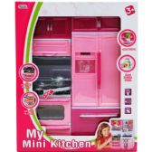 "12 Units of 10""x13"" B/O MINI KITCHEN STOVE & FRIDGE IN WINDOW BOX - TOY SETS"