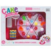12 Units of 14PC PRETEND CAKE PLAY SET IN WINDOW BOX - TOY SETS