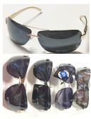 36 Units of Golden Frame Men Sunglasses - Sunglasses