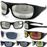 36 Units of PLASTIC SUNGLASSES MIXED COLOR DOZEN - Sunglasses