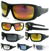 36 Units of MIXED COLOR DOZEN MENS STYLE SUNGLASSES - Sunglasses