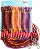 48 Units of Thin Round Dog Leash - PET HARNESS/LEASH/COLLAR/CHAIN
