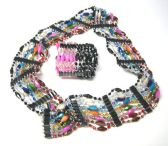 60 Units of Magnetic Necklace (Dozen) color Assorted - Necklace