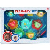 12 Units of 17 PC TEA PARTY PLAY SET IN WINDOW BOX - TOY SETS