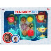 12 Units of 16PC TEA PLAY SET IN OPEN BOX W/ BLISTER COVER - TOY SETS