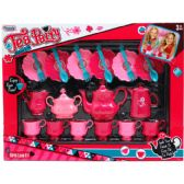 12 Units of TEA PARTY PLAY SET IN WINDOW BOX - Girls Toys