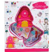 12 Units of TWO LEVEL MUSHROOM SHAPE TOY MAKE UP IN WINDOW BOX - Girls Toys
