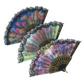 12 Units of Open Fan Color/Style Assorted(10 Piece in Pack) - Home Decor