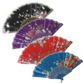 6 Units of Open Fan Color/ Style Assorted(10 Piece in Pack) - Home Decor