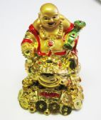 12 Units of Buddha with/Frog/ 5x3 - Home Decor