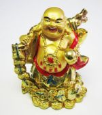12 Units of Gold Buddha with/ Money/5x3 - Home Decor