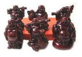 5 Units of sets- Happy Buddha /6 different mixed - Home Decor