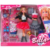 """12 Units of 11.5"""" BENDABLE BELLA DOLL W/ ACCSS IN WINDOW BOX - Dolls"""