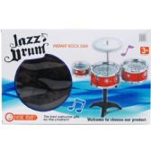 10 Units of 6PC BIG BAND DRUM PLAY SET IN COLOR BOX - TOY SETS