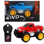 "12 Units of 2CH 7.5"" R/C 4WD TRUCK IN WINDOW BOX, 2 ASSRT - Cars/Planes/Train/Bikes"