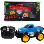 "12 Units of 4CH 7.5"" R/C 4WD TRUCK IN WINDOW BOX, 2 ASSRT - Cars/Planes/Train/Bikes"