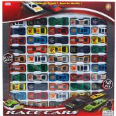 12 Units of ASSORTED DIE CAST CAR SET IN WINDOW BOX - Cars, Planes, Trains & Bikes