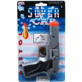 """72 Units of 7"""" SILVER SUPER CAP TOY GUN(SQUARE) IN BLISTER CARD - Toy Weapons"""