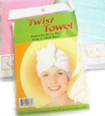 96 Units of TWIST TOWEL - Skin Care