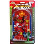 72 Units of MINI SPORTS PINBALL GAME ON BLISTER CARD - Magic & Joke Toys