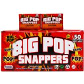 12 Units of FIFTY COUNT PARTY SNAPPERS IN COLOR BOX - Magic & Joke Toys