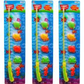 "48 Units of 5PC GONE FISHIN' PLAY SET W/18"" ROD ON CARD, 2 ASSRT - TOY SETS"